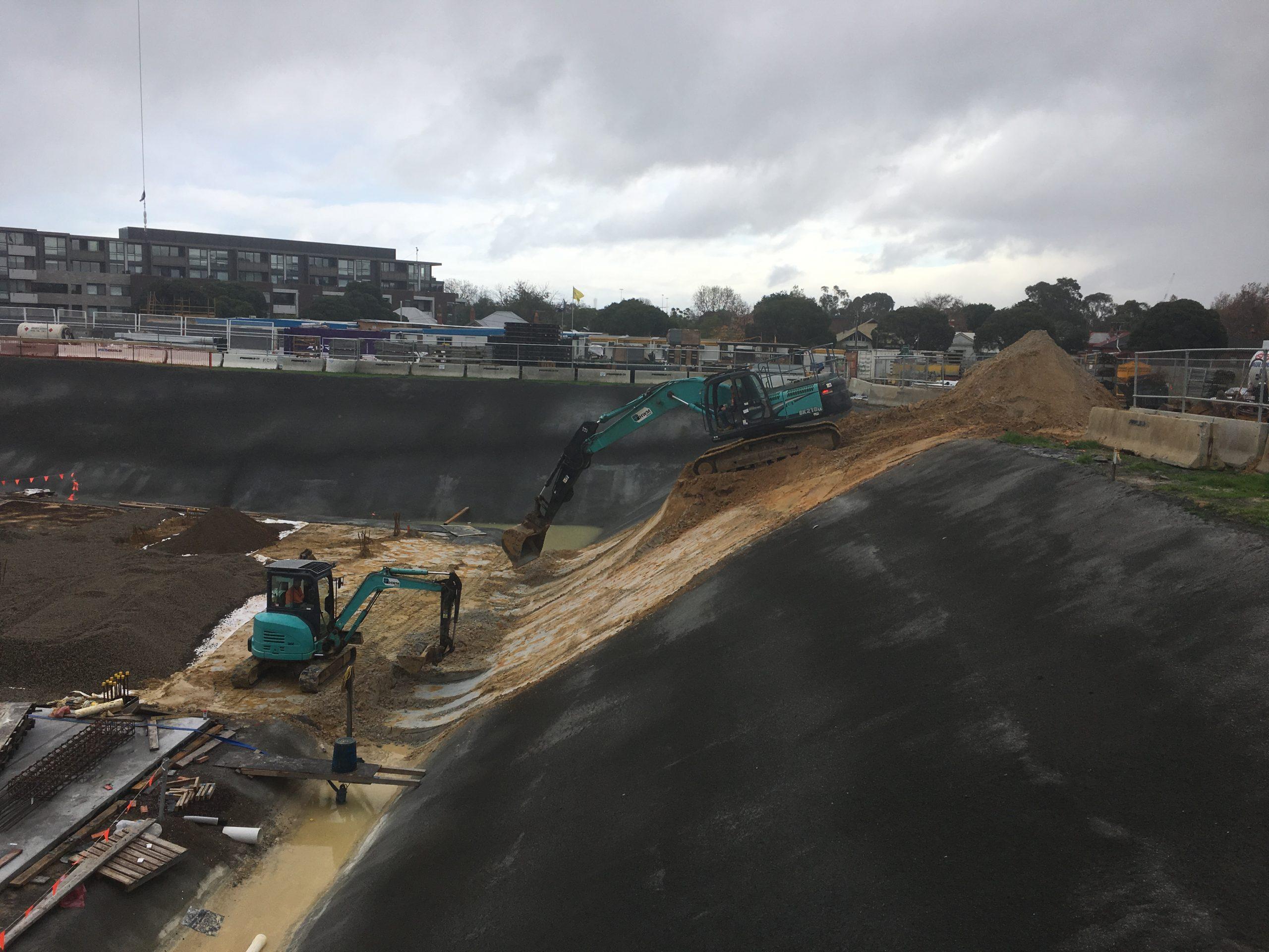 Soil stabilisation - Retaining Walls